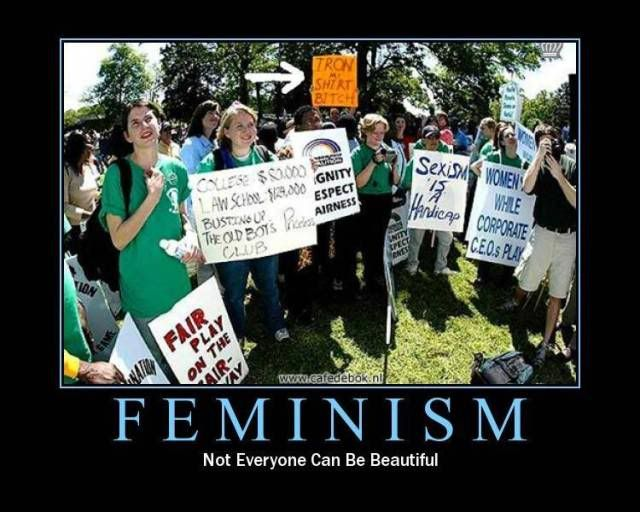 How about a Motivational Poster thread! Feminism