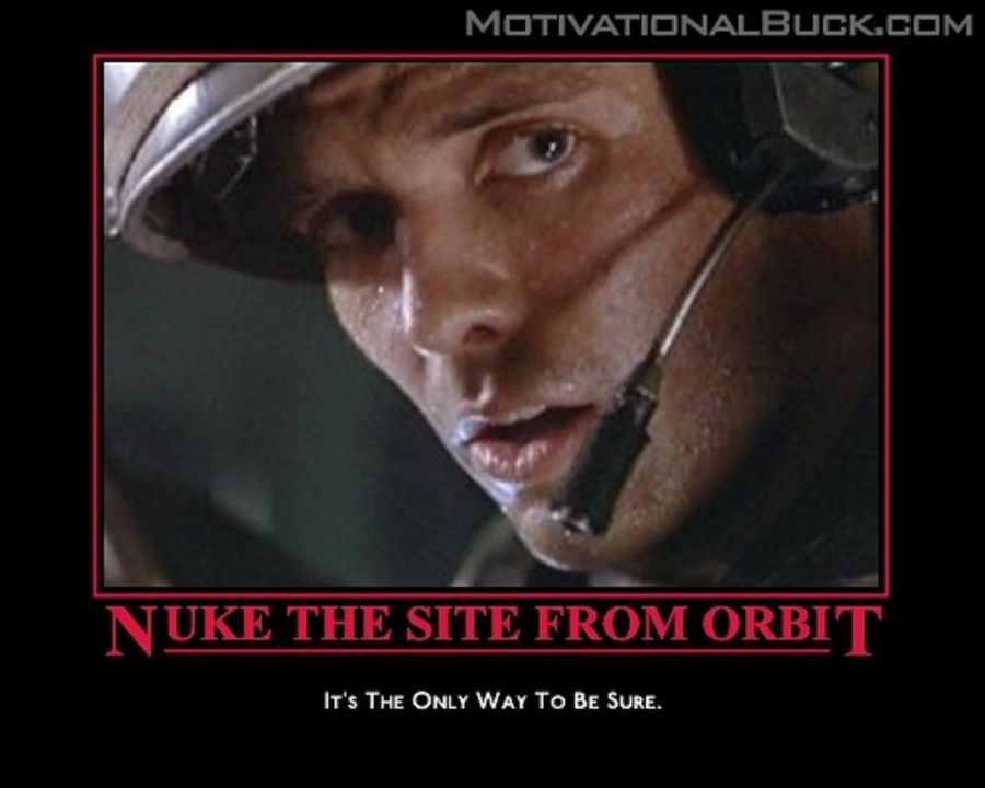 How about a Motivational Poster thread! NukeOrbit