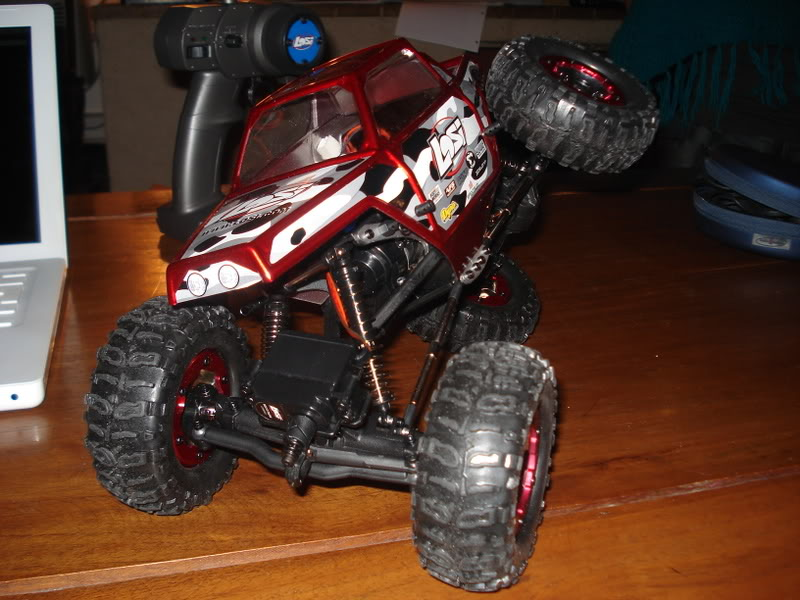 Mini Rock Crawler LOSI DSC00283