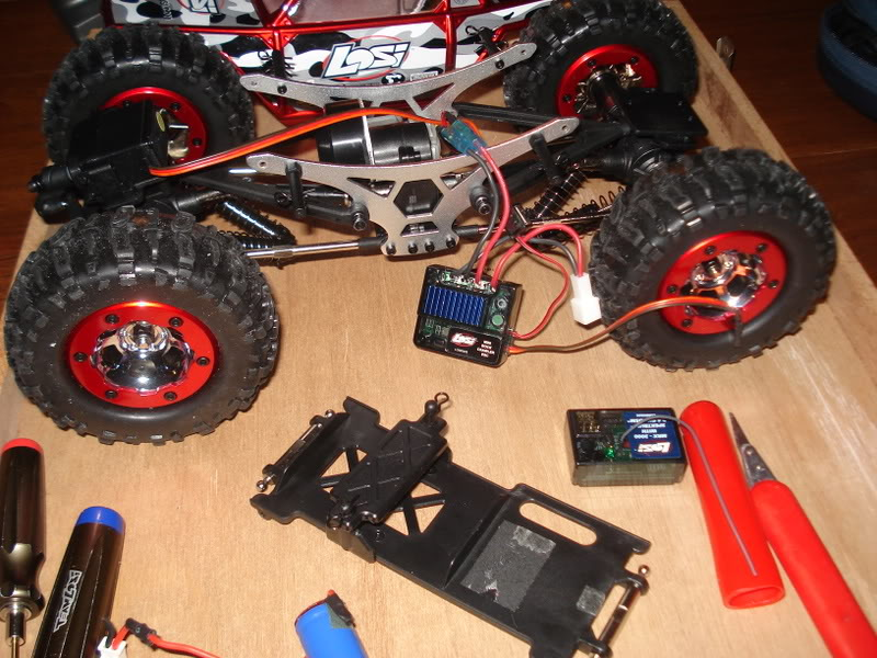 Mini Rock Crawler LOSI DSC00285