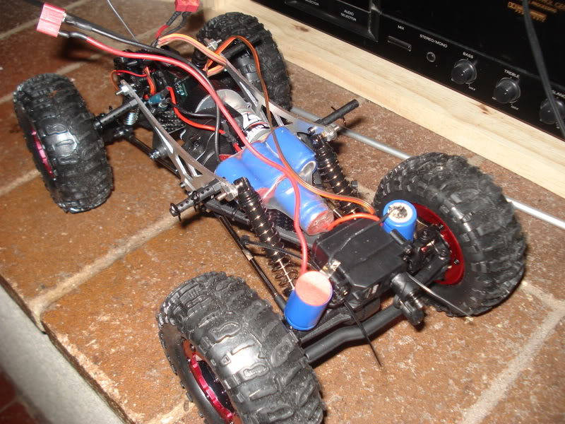 Mini Rock Crawler LOSI DSC00303