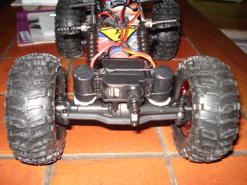 Mini Rock Crawler LOSI DSC00304