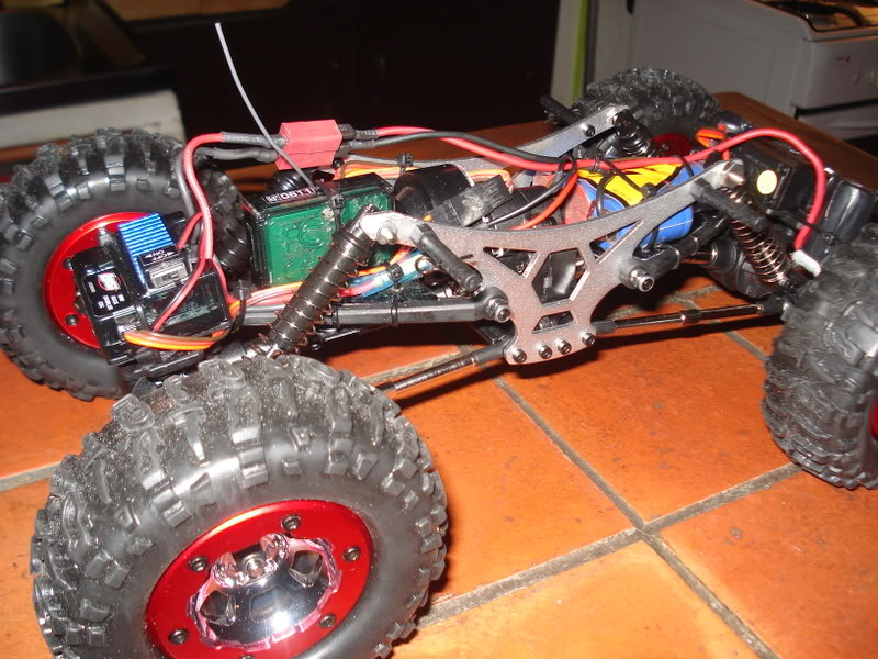 Mini Rock Crawler LOSI DSC00306