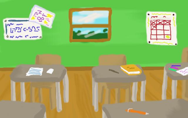 Background Art Classroom