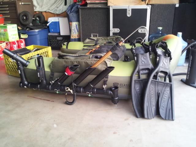 For Sale: Float Tube Rod Racks 20120420_191829