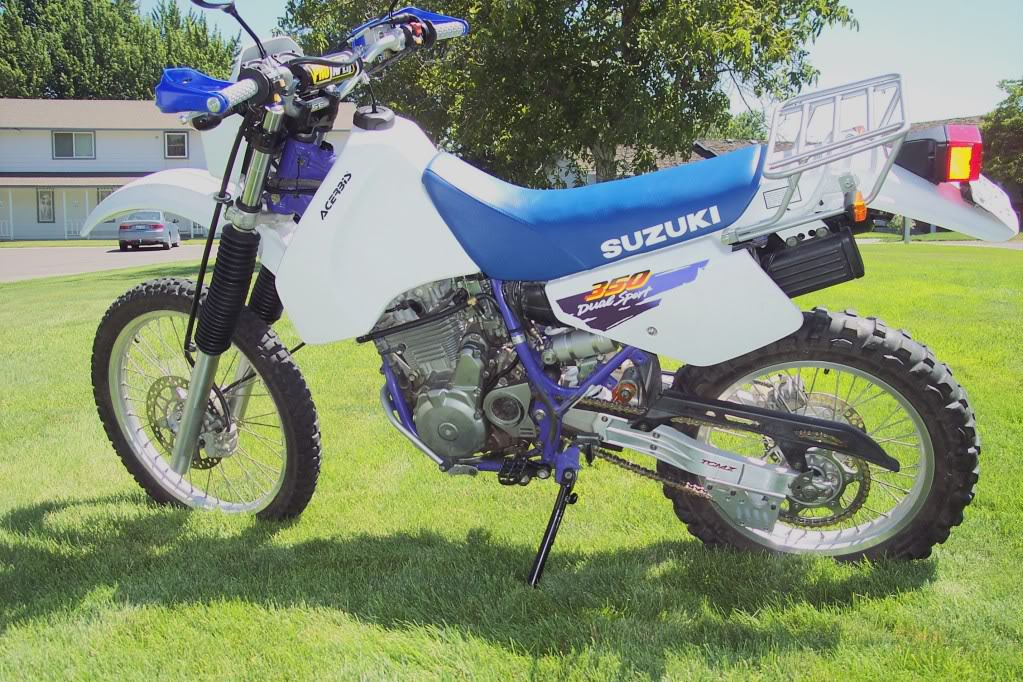 96 DR350 restore, in the parts gathering mode... 100_7190