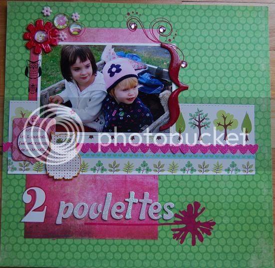 Défi de Mai 09 de Susie Poulettes