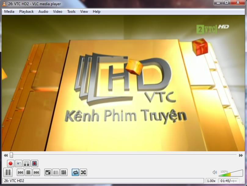 Xem MEGATV trực tiếp trên máy tính bằng VLC Player 1-2