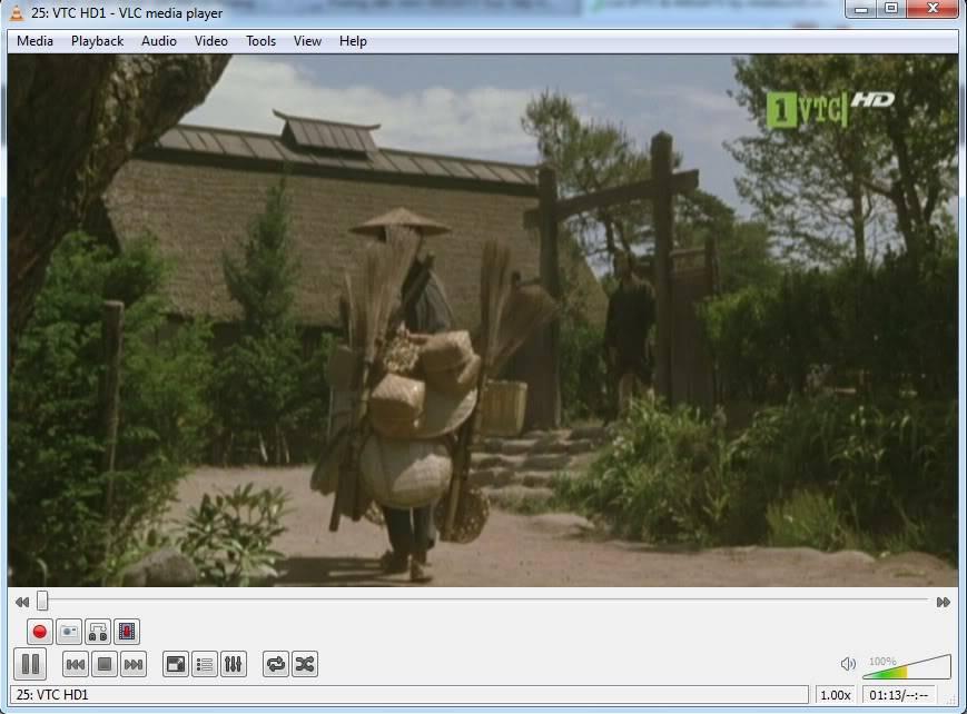 Xem MEGATV trực tiếp trên máy tính bằng VLC Player 1-3