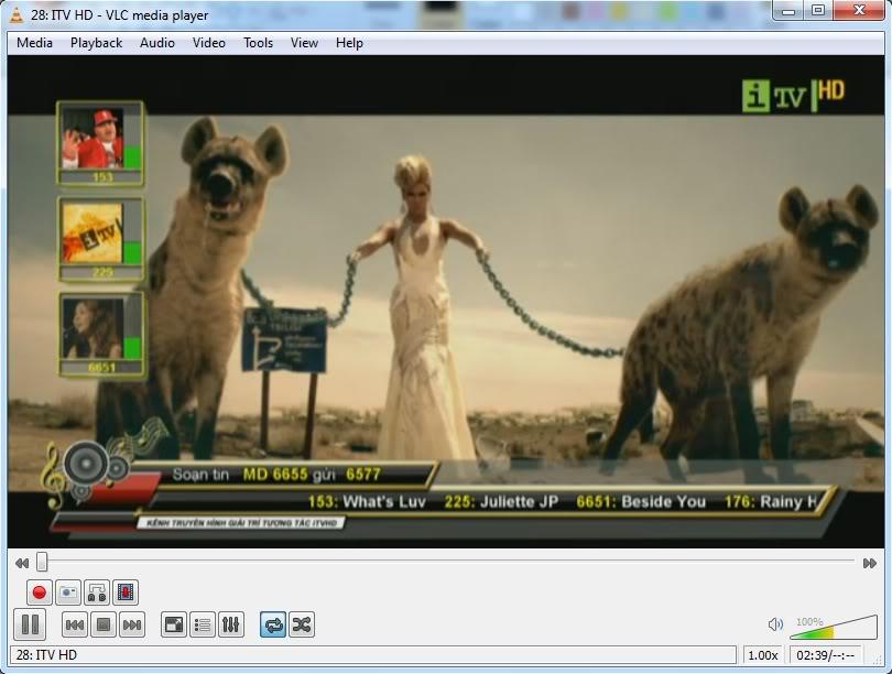 Xem MEGATV trực tiếp trên máy tính bằng VLC Player 2-3