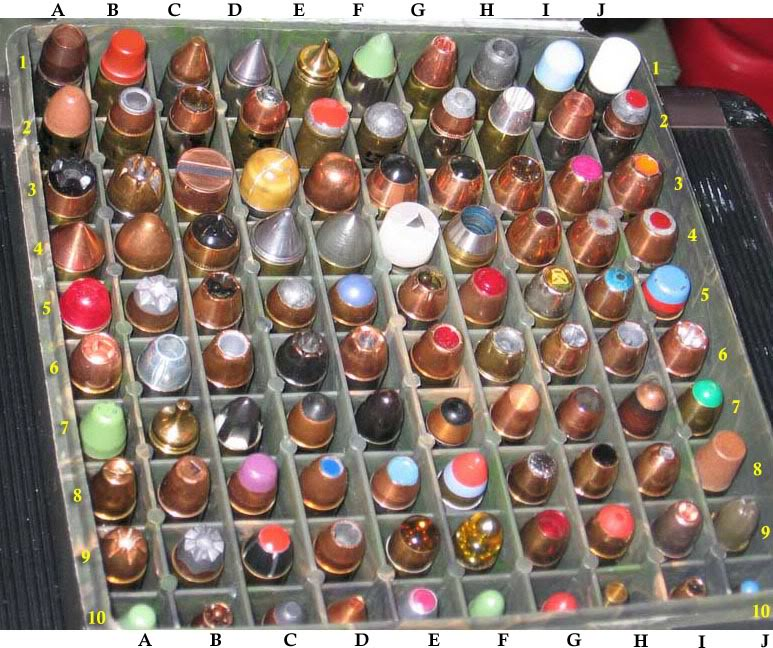"Collection de munitions ""intéressantes"" ExoticHandgunAmmo"