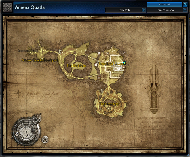 Riding Skill, Sparky (The Raptor Achievement) DragonfallMap1_zps601476f9