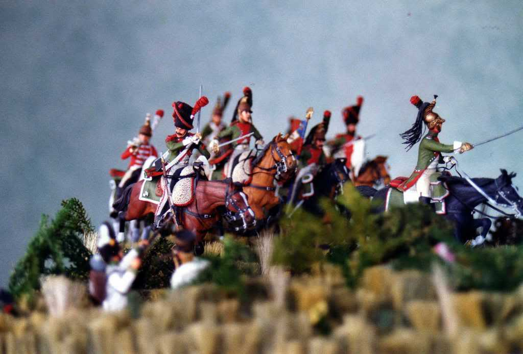 Charge des Dragons Wagram 1809 CHARGE2meDRAGONS1809-4