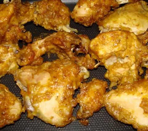 Pressure-Cooker Fried Chicken - suitable for freezing Friedchickencooked