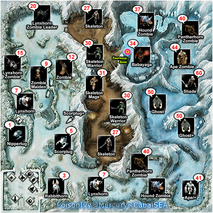 [GUIDE] Complete Map Layout (Mob & Quest Location) BloodyIce-1