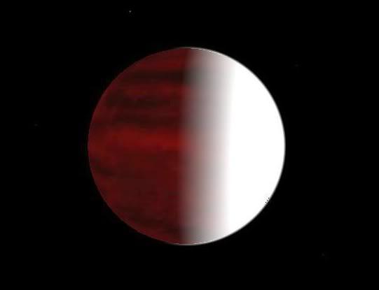 Realistic hot planet textures HotJupiter1