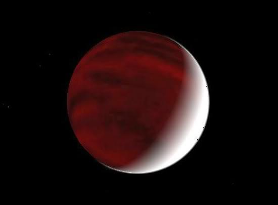 Realistic hot planet textures HotJupiter2