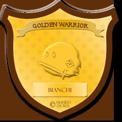—MDR ♕ AWARDS: DICIEMBRE, 2014 [ p r e m i a c i ó n ! ] Goldenwarrior_bianchi