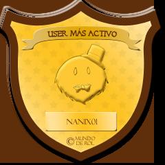 —MDR ♕ AWARDS: DICIEMBRE, 2014 [ p r e m i a c i ó n ! ] Useractivo_nanix