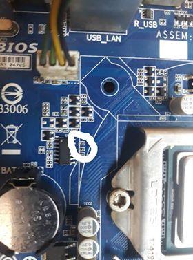 [Gigabyte] Hướng dẫn sửa main GA-H61M-DS2 rev 3.0 kích cúp 44787571_269474953706169_3434393769871409152_n