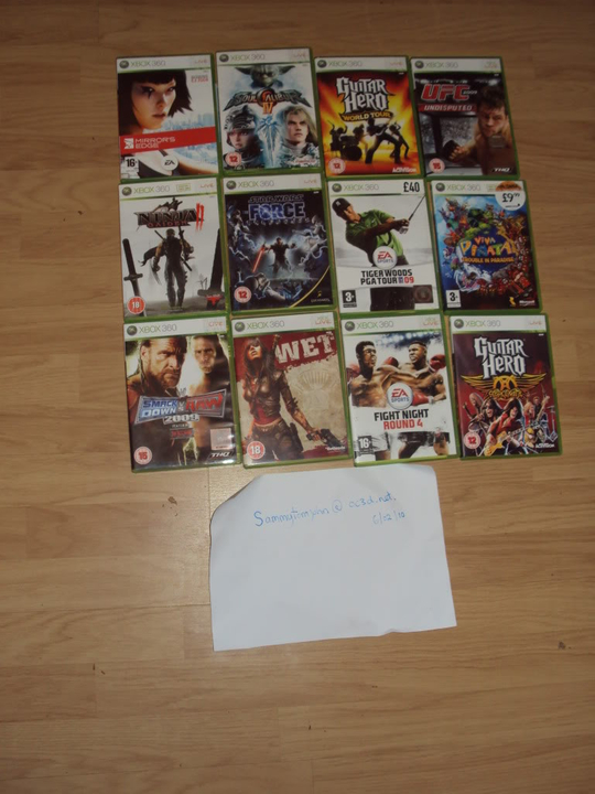 xbox 360 elite with 9 months warranty and more!! DSC00108