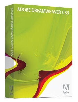 Adobe CS3 Products Dreamweaver