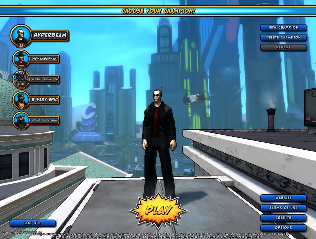 Champions Online (The RP Version) Hyperbeam