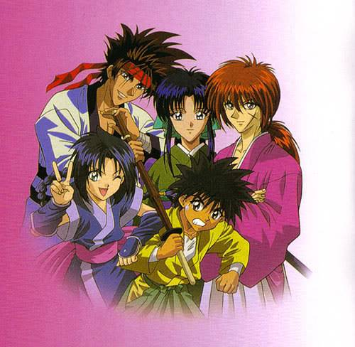 Runouni Kenshin (ou samurai X) Group9