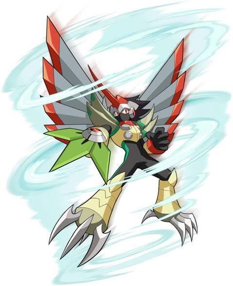 Squall Aeolus Megaman_tengu