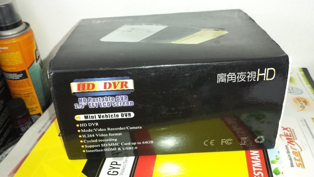 Wts BNIB Car camera $30 20140315_123428