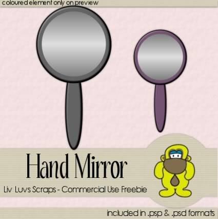 CU Hand Mirror (Liv Luvs Scraps) LLS_GlitzGlamCU_Freebie_Previewsmal