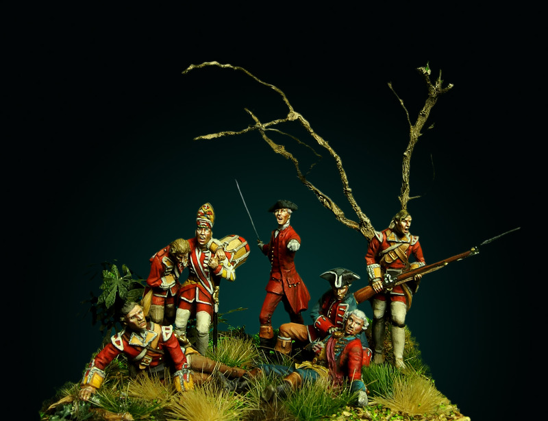 Braddock's defeat: ma version (Oniria miniatures 28mm) 1_zpsqrsigwgg