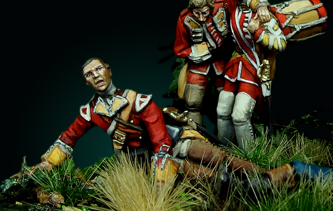 Braddock's defeat: ma version (Oniria miniatures 28mm) 6_zpsggpkwoom