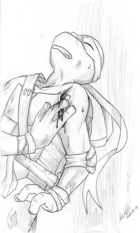 Genunushi- Water Trail & Tmnt sketches Morestuff3