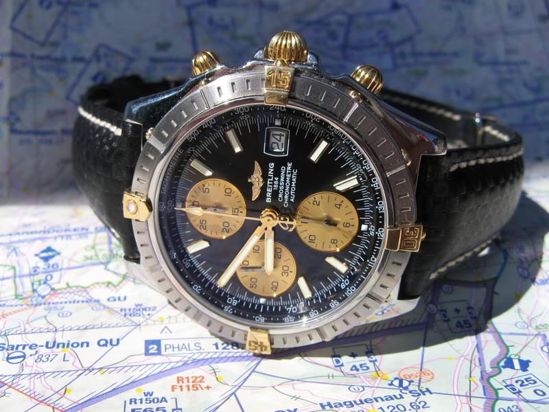 Feux de vos montres monté sur Carbon Hirsch Phot852