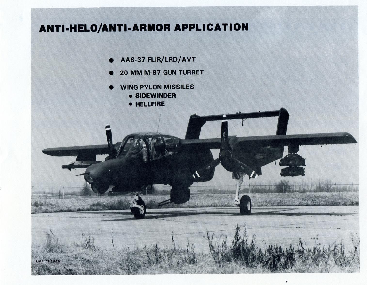 Rockwell OV-10 Bronco OV-10D19