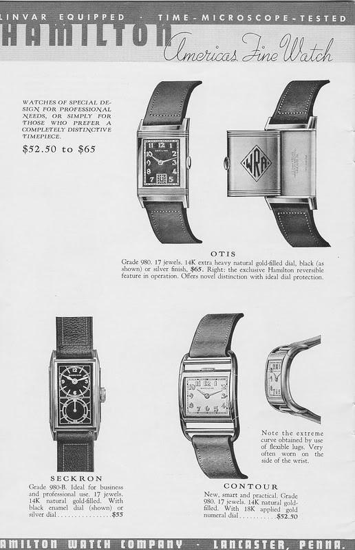 Les Hamilton Otis Reverso CatalogueHamilton1939