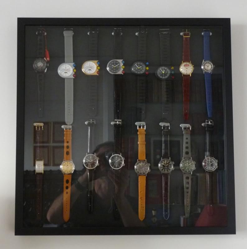 où trouver une vitrine murale pour montres? EncadrementLip