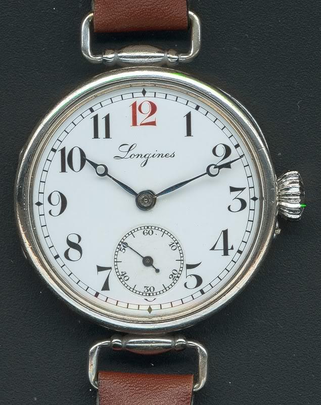 Spécial 11 novembre ... Les montres de soldats inconnus  Longines1910