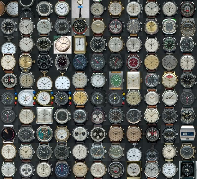 collection - Aperçu global de ma collection Mosaquehorlogre