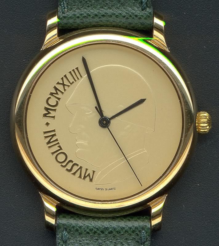 Quelle est votre montre la plus originale ? - Page 2 Mussolini