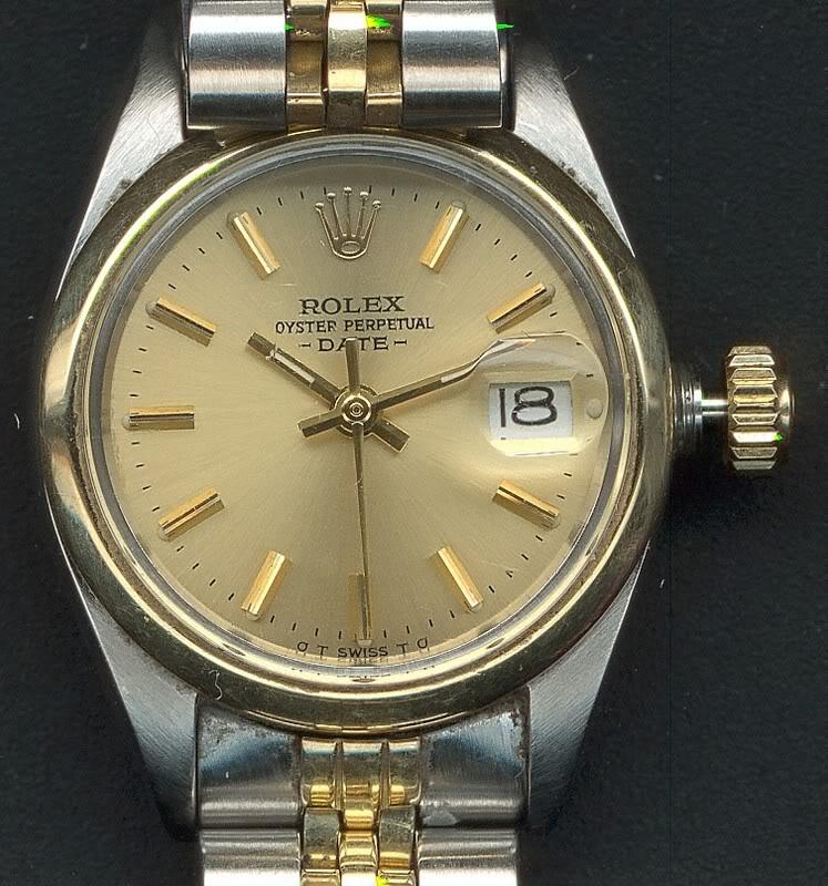 quelle montre porte votre femme?? RolexOyster