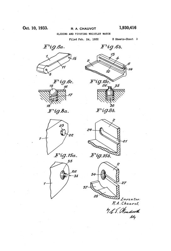 Hamilton Otis reverso + le brevet de René Alfred Chauvot USPAT1930416_3