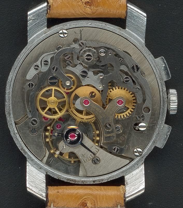 La gamme des calibres chrono Universal Genève Universal481TriCompax