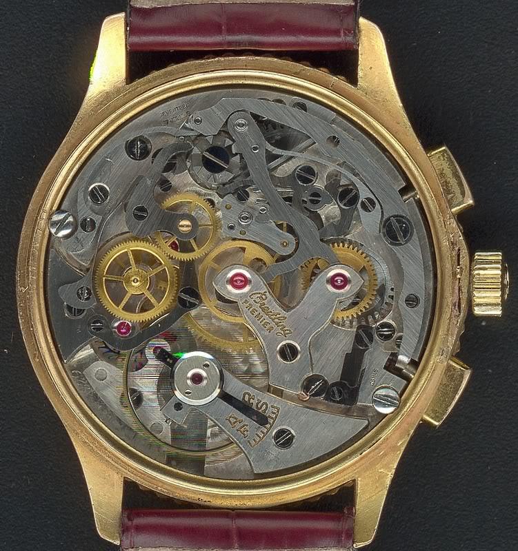 Breitling - Configuration bizarre Venus 175 Breitling Chronomat Venus175BreitlingChronomat1946