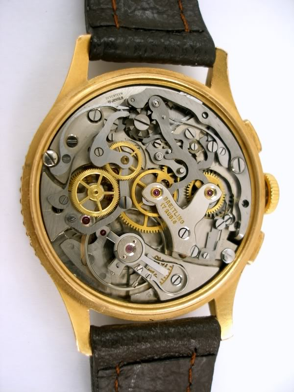 Breitling - Configuration bizarre Venus 175 Breitling Chronomat Vnuscoldecigne