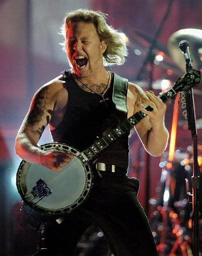 ¿Quien te dijo que todo es Guitarra Electrica?+Yapa pa´los pibes! - Página 2 Hetfieldbanjo
