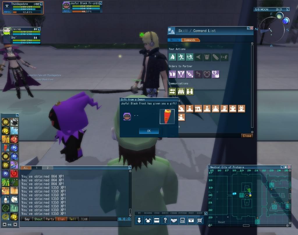 Black Frost doesn't speak... 20101016_0752_22