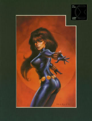 LA VEUVE NOIRE ( Black Widow I ) 51-LM
