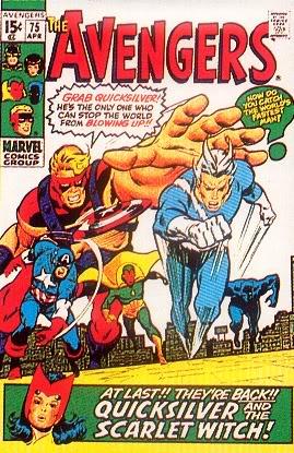 VIF-ARGENT ( Quicksilver ) Avengers75